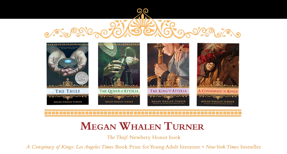 Megan Whalen Turner homepage